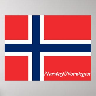 norwegen/norge, flagga