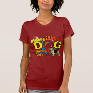Norwich_Terrier_Agility Tee Shirt