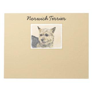 Norwich Terrier Anteckningsblock