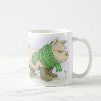 Norwich terrier i mars kaffemugg