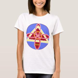 NOSA Karuna Reiki som läker symbolgrafik T-shirts