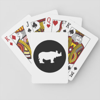 Noshörning Casinokort