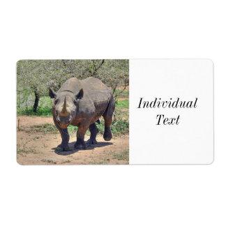 noshörning fraktsedel