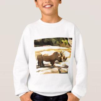 Noshörning från Safari Tröja