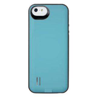 Nostalgisk Aqua iPhone SE/5/5s Batteri Skal