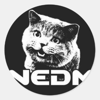 Not Even Doom Music Stickers Runt Klistermärke