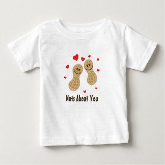 Nöt om dig unisex- gullig humor för jordnötmatvits t-shirts