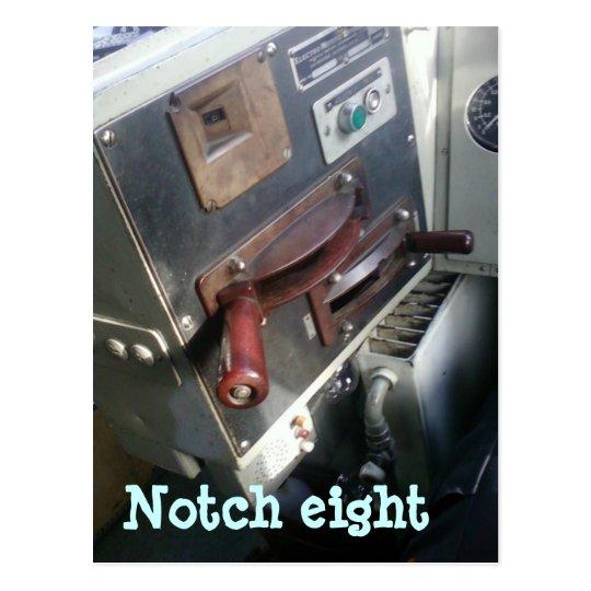 Notch eight vykort