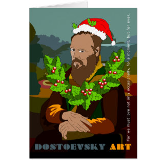 """""""Noterar Gioconda"""" Dostoevsky konst kortet OBS Kort"""