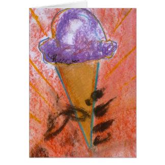 """""""Noterar glasspropaganda"""" kortet av Brad Hines OBS Kort"""