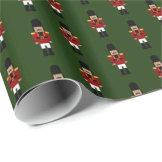 Nötknäppare - inpackning av papper presentpapper