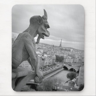 Notre Dame Gargoyle Mousepad Mus Matta