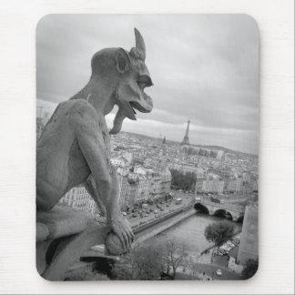 Notre Dame Gargoyle Mousepad Musmatta