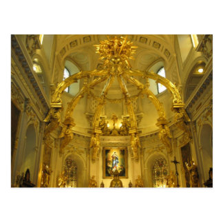 Notre Dame Quebec City, Quebec, Kanada Vykort
