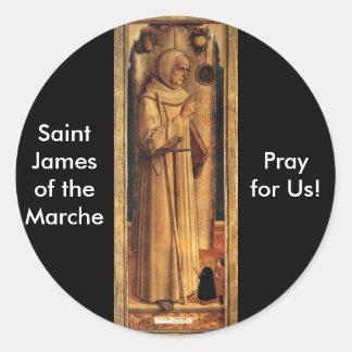 Nov 28 St James av Marchen Runt Klistermärke