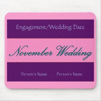 """""""November bröllop"""" Mousepad - anpassade Musmattor"""