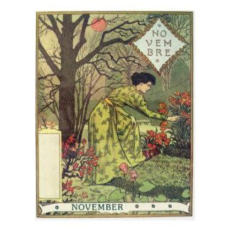 November Vykort