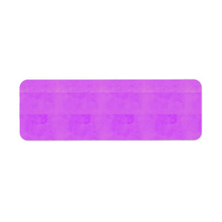 NOVINO-konst: Konstnär skapade crystal färgmallar Returadress Etikett