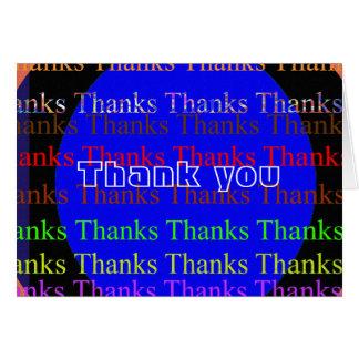 NOVINO Manyways till tack - tack Hälsnings Kort