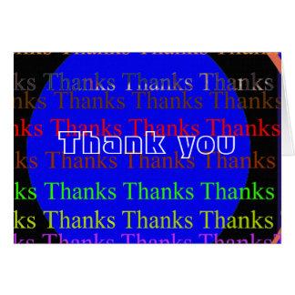 NOVINO Manyways till tack - tack Hälsningskort