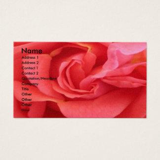 NOVINO - Röd ros Visitkort
