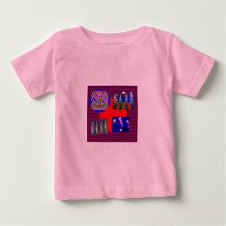 NOVINO-variationssamlingen kvadrerar rundor Tshirts