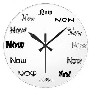 Now är Time Stor Klocka
