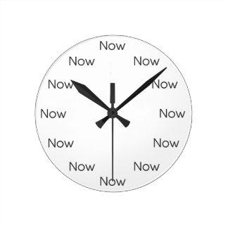 Now är Zen™ - MindfulnessTaoistbuddist Rund Klocka