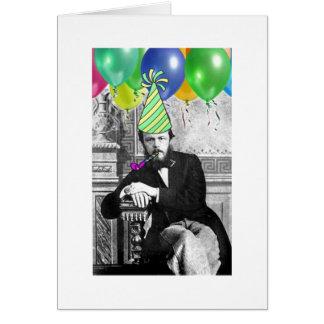 Nr. 3 för Dostoevsky födelsedagkort Hälsningskort