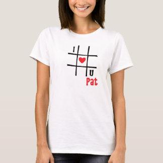 Nr. älskar jag passande kvinna för U Hanes den T Shirt