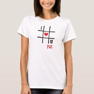 Nr. I passande Luv U T Shirt