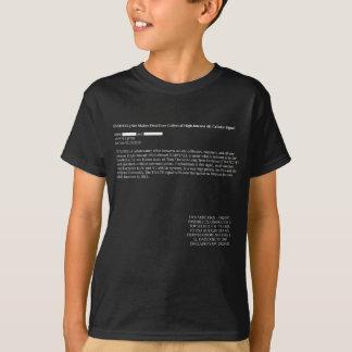 NSA läcker mörk 4G T-shirt