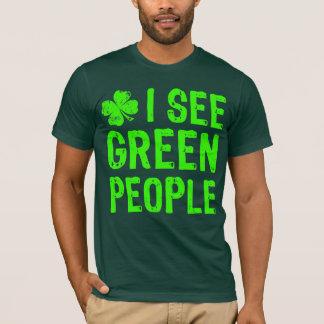 NSPF ser jag grönt folk T-tröja Tshirts