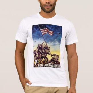 Nu alla tillsammans ~ Iwo Jima T Shirts