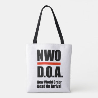 NU D.O.A.-tote bags - All över trycket 2-Sided 1 Tygkasse