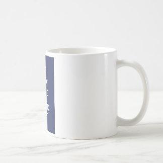 Nu göra panikslagen och flippa ur ut kaffemugg