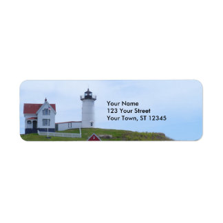 Nubblefyr - Maine Returadress Etikett