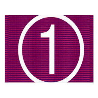 NumberONE Vykort