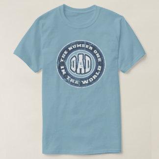 Numrera 1 bedrövade pappaT-tröja T Shirts