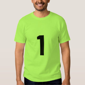 Numrera 1 t shirt