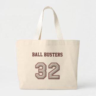 Numrera 32 med kall baseball syr Look Tote Bags