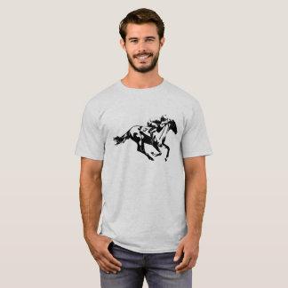 Numrera en hästkapplöpningJockey Tee Shirt