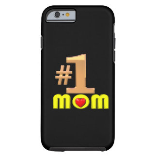 Numrera en mamma tough iPhone 6 fodral