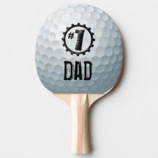 Numrera en pappa/mamma/Son…, Personliggolfboll Pingisracket