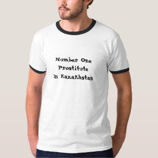 Numrera en sköka i Kasakhstan T-shirts