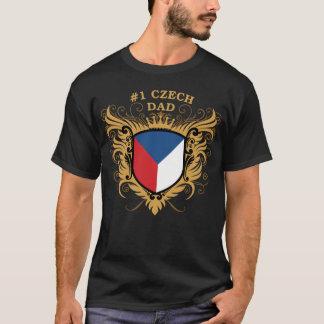 Numrera en tjeckisk pappa tee shirt
