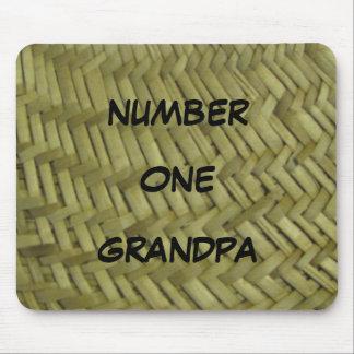 Numrera objekt för en morfar musmatta