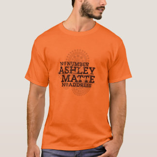 """Numrerar"" det inget Ashley Matte original T-tröja T Shirts"