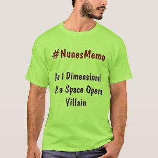 #NunesMemo som 1 som är dimensionell som en Tshirts