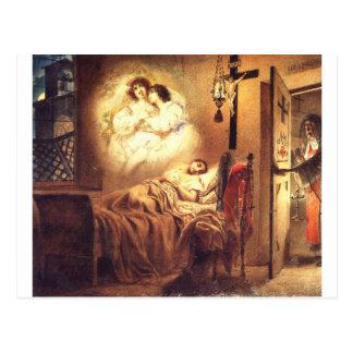 Nunna dröm av Karl Bryullov Vykort